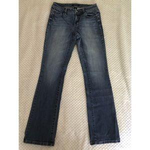 White House Black Market Blanc Jean